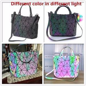 Handbags - NEW! ALL SIZES! Luminous Bag Geometry Diamond Tote